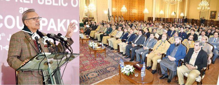 Photo of صدر مملکت ڈاکٹر عارف علوی کا 16 ویں چیف سکاﺅٹ آف پاکستان
