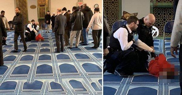 Photo of لندن کی مسجد میں نمازی پر چاقو سے وار