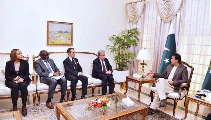 Photo of وزیراعظم عمران خان سے اقوام متحدہ کے سیکرٹری جنرل انتونیو گوتریس کی ملاقات