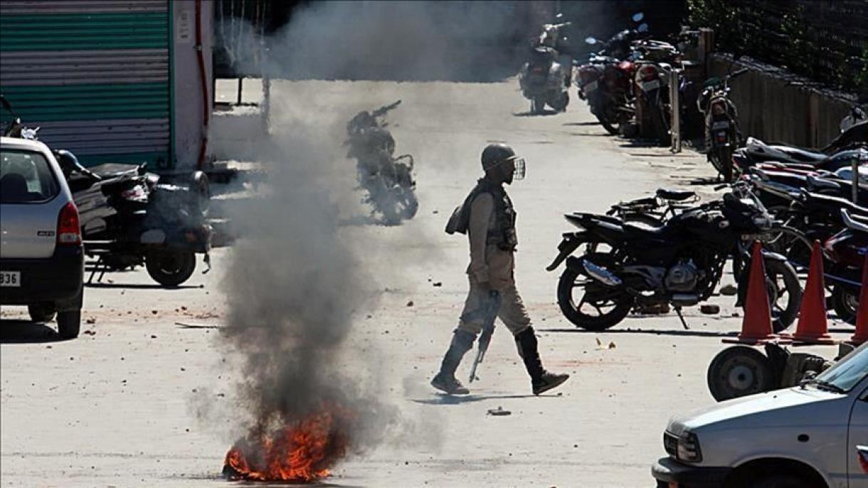 Photo of مقبوضہ وادی میں بھارتی فوج کی ظالمانہ کارروائیا ں جاری