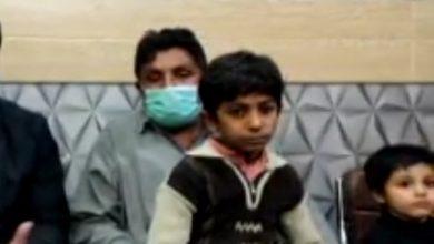 Photo of کورنگی زمان ٹاون سے اغوا ہونےوالا بچہ بازیاب