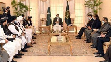 Photo of وزیراعظم عمران خان سے ملا عبدالغنی برادرکی قیادت میں افغان طالبان کی ملاقات