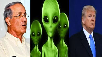 Photo of خلائی مخلوق سے رابطہ ہے ، ٹرمپ راز فاش کرنے والے تھے ، اسرائیلی سائنسدان
