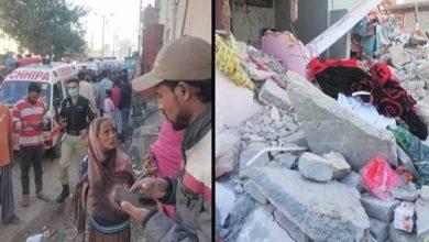 Photo of نیوکراچی میں قائم مکان میں گیس کا دھماکا، 1بچہ جاں بحق، 6زخمی ہوگئے