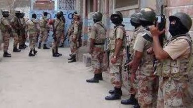 Photo of پاکستان رینجرز سندھ کی سندھ بلوچستان کے سرحدی علاقے میں کارروائی