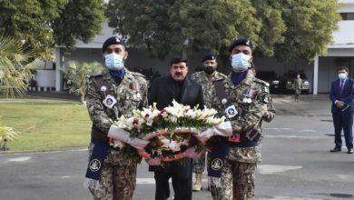 Photo of شیخ رشید احمد کا پاکستان کوسٹ گارڈز ہیڈکوارٹرز کا دورہ