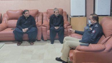 Photo of ڈی آئی جی ویسٹ عاصم قائم خانی کی مرحوم سلمان مجتبیٰ کے انتقال پر اہل خانہ سے تعزیت