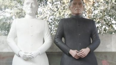 Photo of کراچی کے مجسمہ ساز کا بانی پاکستان سے والہانہ محبت کا اظہار