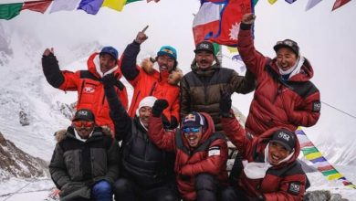 Photo of نیپالی کوہ پیماؤں نے سردیوں میں کے ٹو سَر کرکے تاریخ رقم کردی