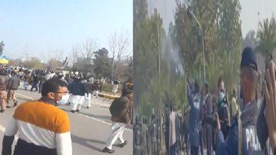 Photo of اسلام آباد کی شاہرا دستور میدان جنگ بن گئی