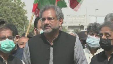 Photo of سندھ کے حقو ق پر شب خون نہیں مارنے دینگے،شاہد خاقان