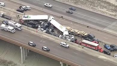 Photo of امریکہ میں 130 سے زائد گاڑیاں آپس میں ٹکرا گئیں چھ افرادہلاک