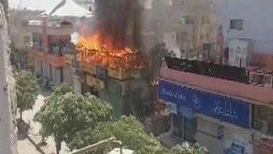 Photo of ماڈل کالونی میں نجی ریسٹورنٹ میں آتشزدگی
